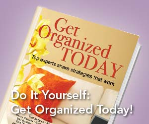 Buy the Book: Get Organized Today!